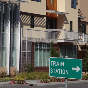 Walk to Caltrain Page